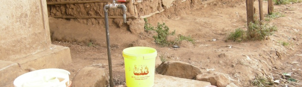 water provision in Nyalenda slum, Kisumu, Kenya